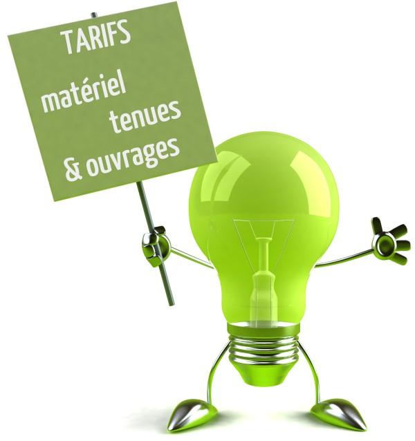 tarifs materiel