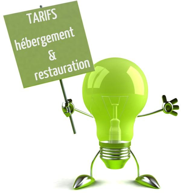 tarifs restauration