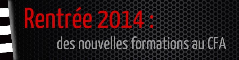 nouvelles formations 2014