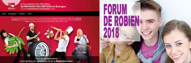 Le calendrier de nos forums