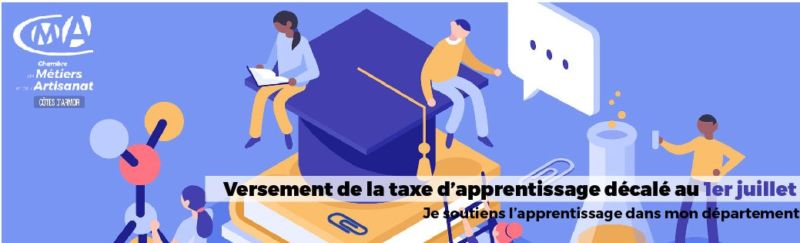 Report du versement de la taxe d'apprentissage