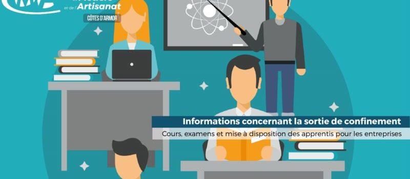 Cours, examens, entreprise : toutes les infos sur la sortie du confinement