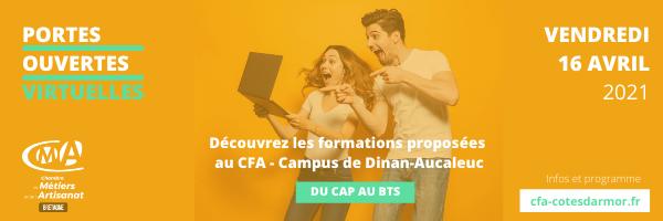 Découverte des métiers et de l'apprentissage – Campus de Dinan-Aucaleuc