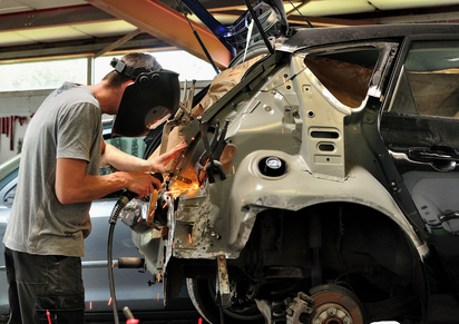 BAC Pro réparation des carrosseries
