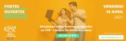Portes ouvertes virtuelles - CFA - Trouver une formation en apprentissage